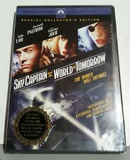 Sky Captain and the World of Tomorrow (DVD, 2005, Widescreen) new in plastic