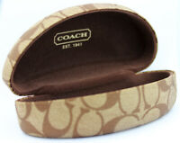 Coach Clam shell Large  Case  with Cleaning Cloth