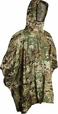 V-Cam Camouflage Waterproof Fishing Hunting Poncho - MTP Multicam compatible