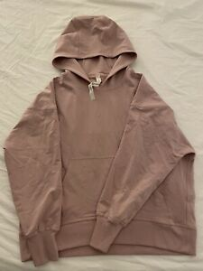 New Without Tags - Lululemon LA Back in Action Hoodie - Light Pink, Size 6