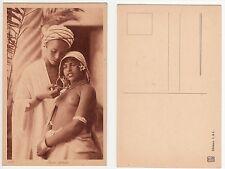 LEHNERT & LANDROCK,Mädchen Junge Liebespaar Arab girl a.boy Ethnic Type c.1920