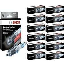 12 Bosch Double Iridium Spark Plug For 2005 ASTON MARTIN DB9 V12-6.0L