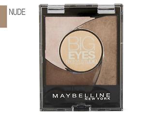 Maybelline Big Eyes Eyeshadow Palette & Primer Luminous Browns Nudes Turquoise