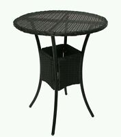 gartentisch beistelltisch rom poly rattan rund. Black Bedroom Furniture Sets. Home Design Ideas