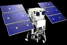 WorldView-1 DigitalGlobe Observation Satellite Handcrafted Wood Model Small New