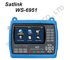 SATLINK WS-6951 DVB-S/S2 FTA HD Digital Satellite Finder with MPEG-2/4,QPSK,8PSK