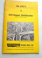 THE A B C OF SOIL CEMENT STABILIZATION CEMENT TREATED BASE MIXING ROADS LAY-DOWN
