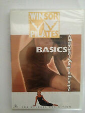 WINSOR PILATES ~ BASICS ~ STEP - BY - STEP ~ AS NEW PAL DVD ~ RARE