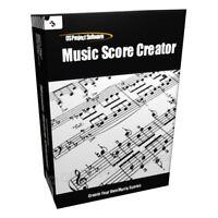 Music Sheet Score Creator Printer Notation Software CD