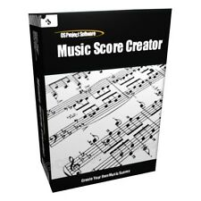 AUT Music Sheet Score Creator Printer Notation Software CD