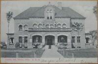 1908 Postcard: 'The County Jail- Akron/Copley, Ohio OH'