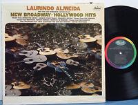 LAURINDO ALMEIDA San Fernando Guitars MEGA RARE 1965 CAPITOL MONO LP Guitar Jazz