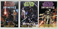 Lot of 3 Star Wars Infinities A New Hope Empire Strikes Return of the Jedi TPB