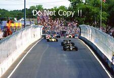 Nigel Mansell & Elio De Angelis Lotus 95T Dallas Grand Prix 1984 Photograph 2