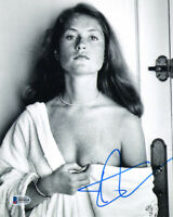ISABELLE HUPPERT SIGNED AUTOGRAPHED 8x10 PHOTO VERY YOUNG RARE BECKETT BAS