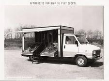PHOTO PRESS ORIG. CARROZZERIA BONESCHI FIAT DUCATO AUTONEGOZIO MINISHOP - 1983