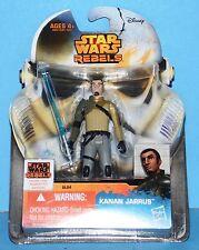 New Card Star Wars Saga Legends Action Figure Sl04 Sw Rebels Kanan Jarrus