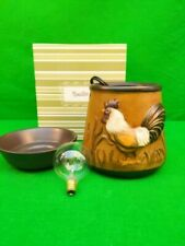 Scentsy Deluxe Wax Warmer ROOSTER 2015 (retired) Terra Cotta New