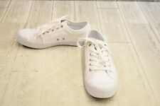 Palladium Pallaphoenix OG Canvas Skate Shoes, Men's 6.5, Women's 8, White