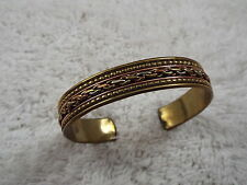 Brass & Copper Cuff Bracelet (C65)