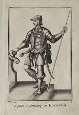 Ritter-Orden Heiliger Antonius Hennegau Holland Pilger-Stab Glocke Kreuzfahrer