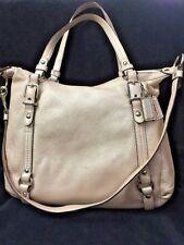 COACH Alexandra 15273 Pink Pearl Blush Leather Converti/Shoulder/ Crossbody Bag