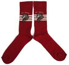 Hombre Rojo Oscuro Cosy So Dope Tigre Calcetines Ru 6-11/39-45 Eur