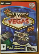 Mystery P.I.: The Vegas Heist (PC: Windows, 2008) NEW SEALED FREE POSTAGE