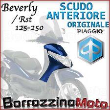 SCOCCA SCUDO ANTERIORE BLU MIDNIGHT ORIGINALE PIAGGIO BEVERLY SPORT 250 2007