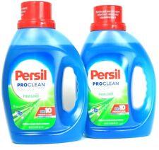 2 Persil 50 Oz Pro 10 Premium Clean Extra Fresh Linen 32 Loads Laundry Detergent