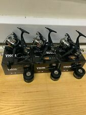 3 x Lineaeffe Vigor 40 Carp Fishing FREE RUNNER  Reel With Spare Spool