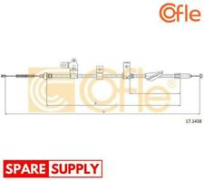CABLE, PARKING BRAKE FOR TOYOTA COFLE 17.1438 FITS REAR, LEFT