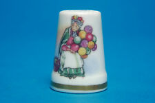Royal Doulton 'Balloon Seller' China Thimbles B/98