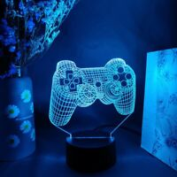 3D Vision Lamp Elegant Table Decor 16 Colors for xbox Series X  Playstation 5