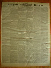 New York Tribune, January 6, 1872. Custom House Frauds. The Wharton Trial