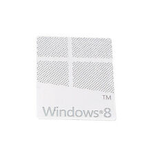 Metall Microsoft Windows 8 Sticker - Aufkleber Metal