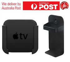 Apple TV Mounting System for 4th generation Apple TV with Remote Holder