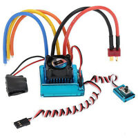 120A Sensored Brushless Speed Controller ESC for RC 1/8 1/10 1/12 Car Crawler O3