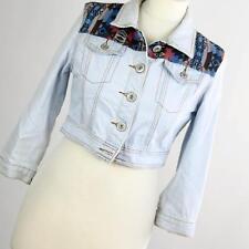 New Look Womens Blue Denim Jacket Size 10 (Regular)