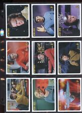 STAR TREK ORIGINAL SERIES ARCHIVES #221-330 & 3 AUTOGRAPHS & 9 INSERTS #ns16-150