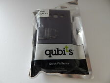 QUBITS Protective Wallet Case For Samsung Galaxy S3 i9300 Purple New
