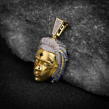 """""""RIP XXXTentacion"""" Multicolor Yellow Gold On Real Sterling Silver Charm Pendant"""