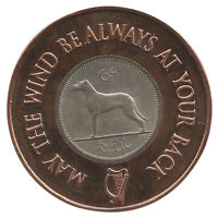 Irish Six Pence Golf Ball Marker -  Brand New Hot off the Press!
