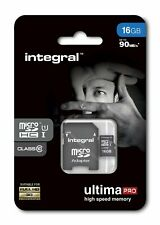 Integral 16GB Micro SDHC Card 16GB Memory Card With SD Adapter Smartphone Tablet