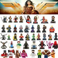 Super Heroes Single Sale Wonder Woman Lepinn Guardians of the Galaxy Batmann