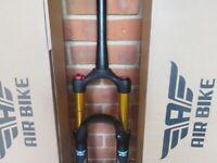 Mountain Bike Fork Tapered Steerer XC32A HLO 27.5 Black 120mm AirBike Suspension