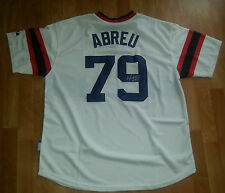 JOSE ABREU 'CHICAGO WHITE SOX' CUBAN ALL STAR SIGNED RETRO JERSEY *COA 2