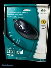 Logitech Wired Optical Mouse M-BT96A OPT MSE 931145 0403 New PC MAC
