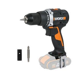 WORX WX102.9 18V (20V MAX) Cordless Brushless Drill Driver - BODY ONLY