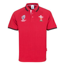 WRU wales rugby RWC classic cotton pique polo shirt [red] size 5XL